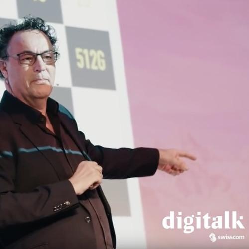 Futurist Keynote Speaker Gerd Leonhard: Swisscom IoT Digitalk- Was bringt die Zukunft