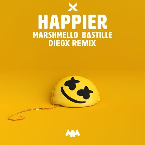 Marshmello Feat. Bastille - Happier (Diegx Remix) [FREE DOWNLOAD]