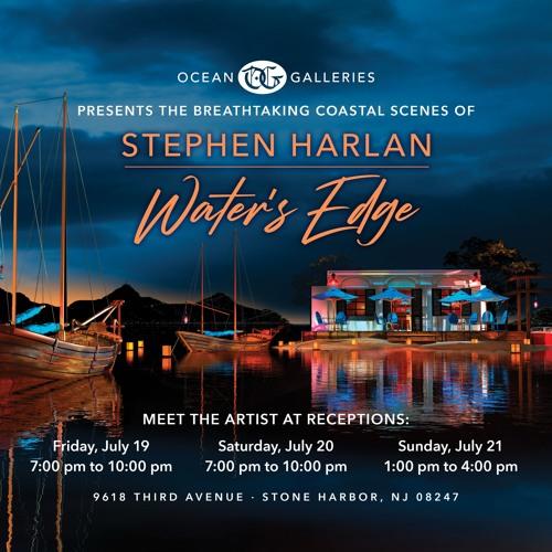 Ocean Galleries presents Stephen Harlan - Water's Edge