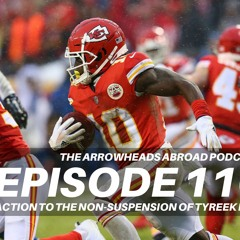 Episode 110 - Reaction to the non-suspension of Tyreek Hill