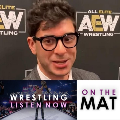 Sat.Sun,July 20-21: On The Mat: AEW Owner Tony Khan Media Scrum after Fight for the Fallen
