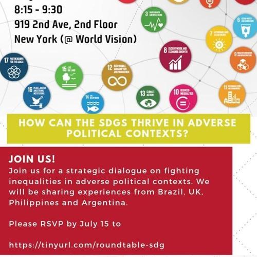 Political Influence In SDGs