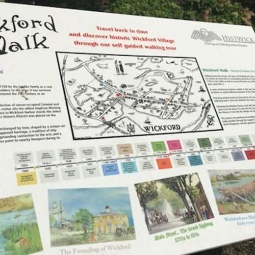 Wickford Walk Marker Audio