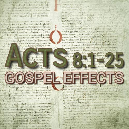 Acts 8:1-25 (preacher: Elizabeth Linton)