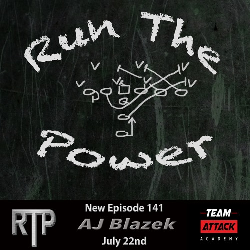 AJ Blazek - North Dakota State Run Game Ep  141 by Run The Power : A