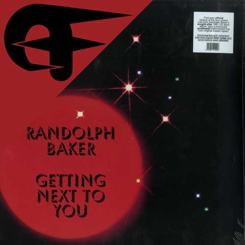 Randolph Baker - Getting Next To You (Even Funkier Edit)