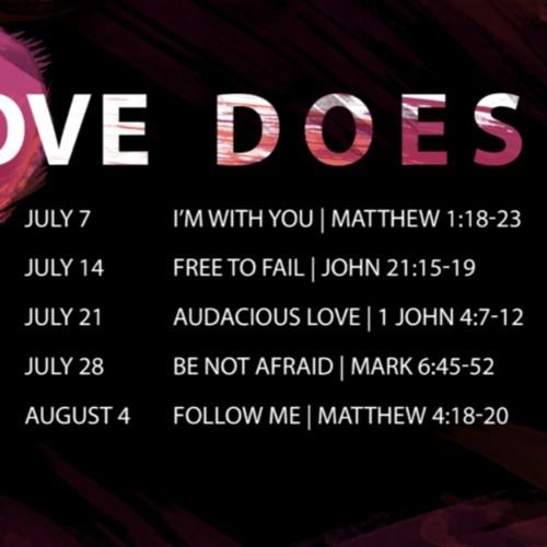 Love Does: Audacious Love | 1 John 4:7-12 | Sermon by Anthony Mako