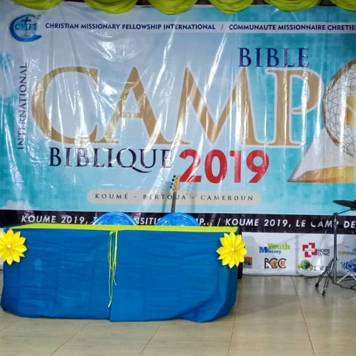 IYBC2019 - Day 2: Sharings  From His Lips Vol 1. (Henriette Mbarga)