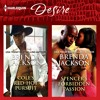 COLE'S RED-HOT PURSUIT & SPENCER'S FORBIDDEN PASSION by Brenda Jackson