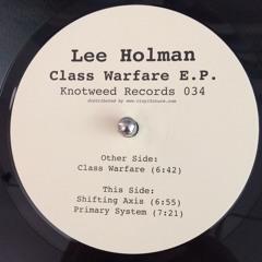 KW034 - Lee Holman - Class Warfare E.P.