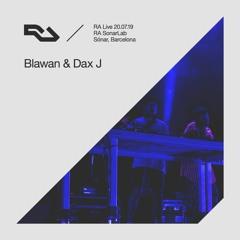 RA Live - 20.07.19 - Blawan & Dax J, Sónar, Barcelona