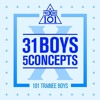 [PRODUCE X 101 - 31 Boys 5 Concepts] 크레파스 - 이뻐이뻐 (Pretty Girl)