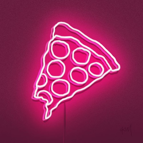 Hot Pink Pizza Party!