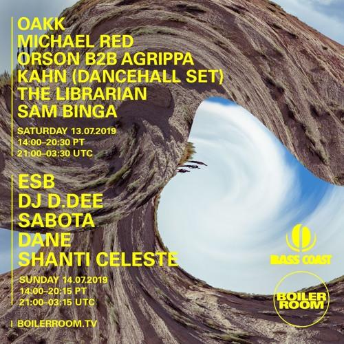 Sam Binga   Boiler Room x Bass Coast Festival