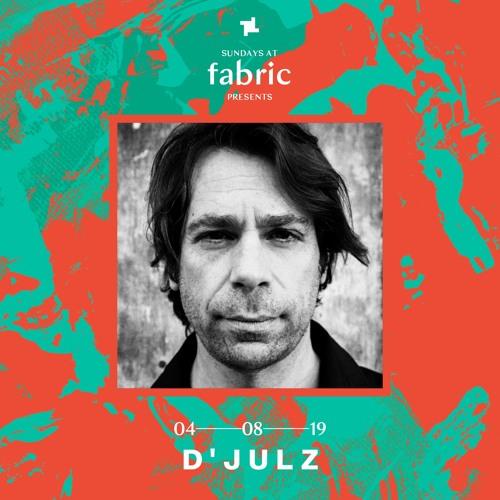 D'Julz Sundays at fabric Promo Mix