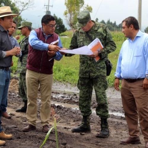 (#AUDIO)Iniciará en septiembre la construcción de cuartel para la Guardia Nacional en Comonfort