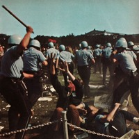 Cops Beating Down On Hippie Scum At The 1968 Democratic National Convention