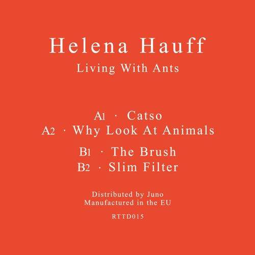 Helena Hauff - Living With Ants - RTTD015