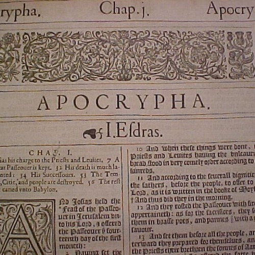 Ep. 098 - The Apocrypha