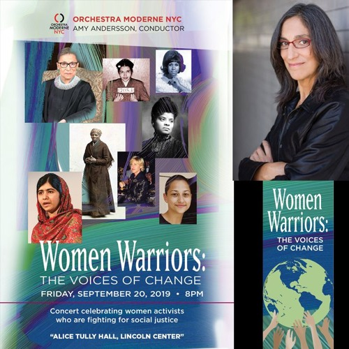 Women Warriors, The Voices of Change  - Freedom: Women Unite Podcast with Music By Miriam Cutler