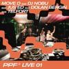 Present Perfect LIVE 01: Move D b2b DJ Nobu b2b Jus Ed b2b Dolan Bergin b2b Telfort