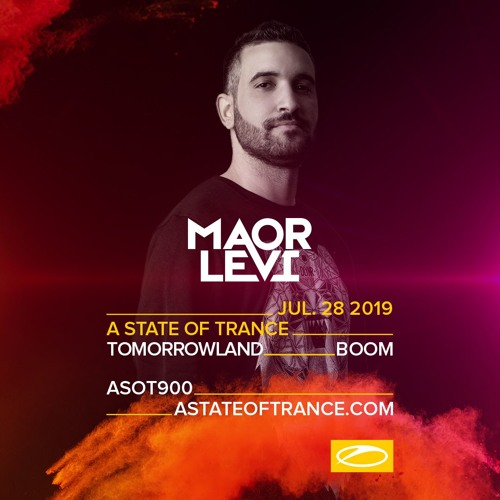 Maor Levi - Live At Tomorrowland - A State Of Trance (Weekend 2) Boom, Belgium July 28th 2019