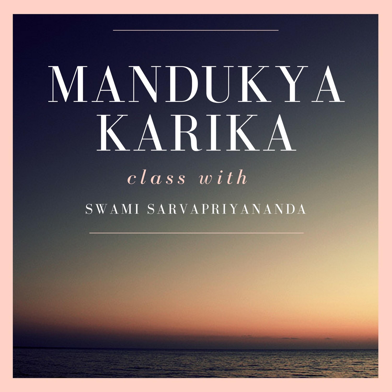 6. Mandukya Upanishad - Karika 6-9 |...