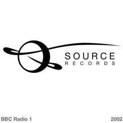 Source Records, BBC Radio 1 One World, 25 April 2002 (David Moufang And Jonas Grossmann)