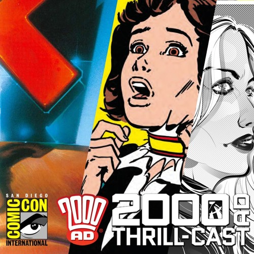 Dredd, girls' horror comics, and the future! The 2000 AD panels at San Diego Comic Con