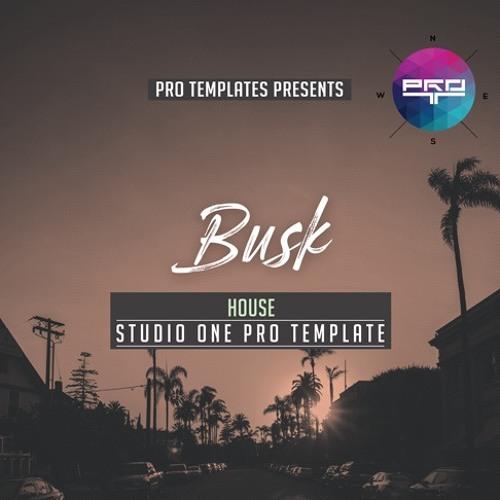 Busk Studio One Pro Template