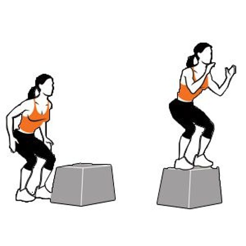 The Box Jump, Not for Gymnasts