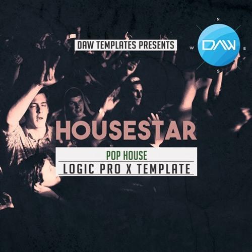 Housestar Logic Pro X Template