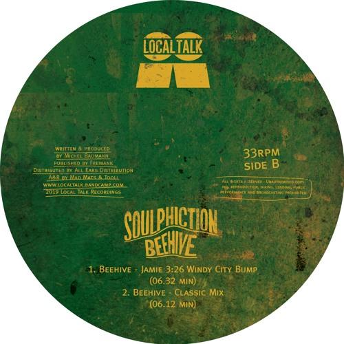 Soulphiction - Beehive (Classic Mix) (12'' - LT099, Side B2)