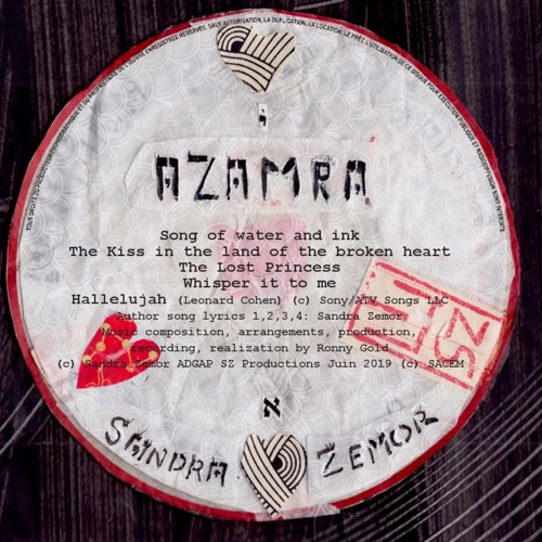 Azamra ( Album teaser )Songs & Voice by Sandra Zemor- Music by Ronny Gold.