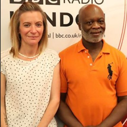 Laura talks to Eddie Nester BBC Radio London July 10th 2019