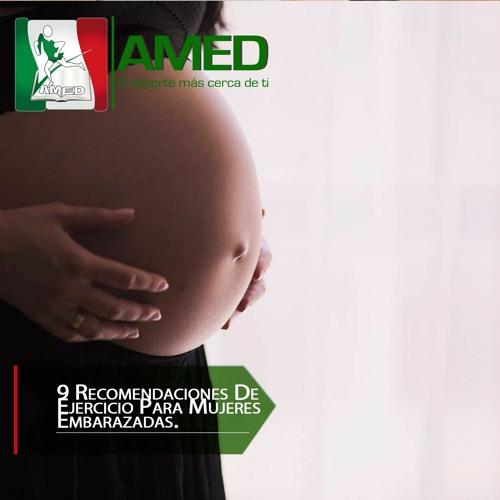 Podcast 329 AMED - 9 Recomendaciones De Ejercicio Para Mujeres Embarazadas.