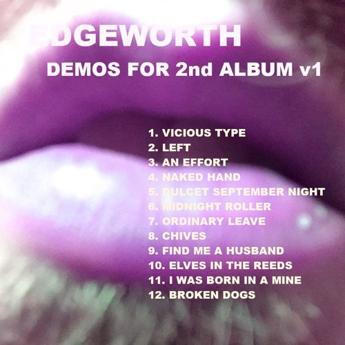 demos for 2nd album v1