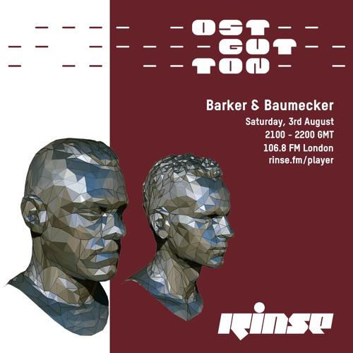 Ostgut Ton Takeover: Barker & Baumecker - 03 August 2019