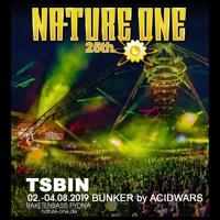 TSBiN @ 25th NATURE ONE // ACID WARS Bunker 2019 Artwork