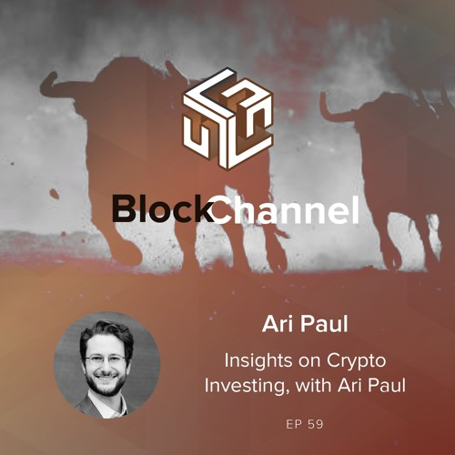 Episode 59: Insights on Crypto Investing, with Ari Paul