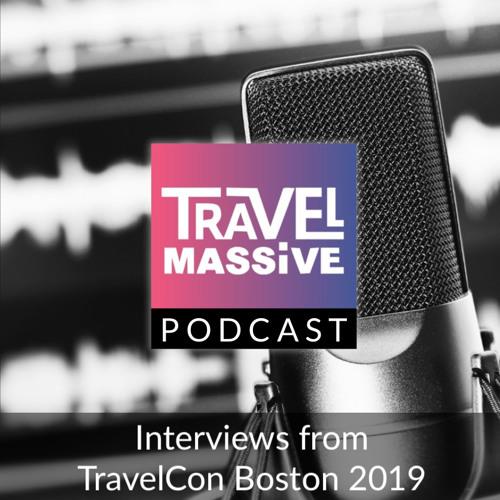 Episode #20 - Caroline Lupini of CarolineLupini.com live at TravelCon Boston 2019