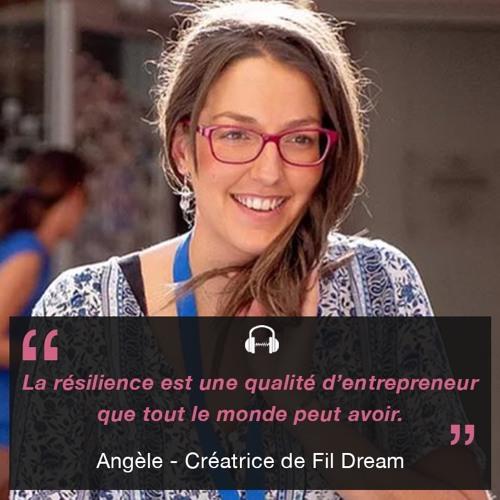Angèle, créatrice de Fil Dream : des produits zéro déchets
