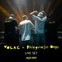 VOLAC B2B PHLEGMATIC DOGS LIVE SET @ MOSCOW [12.07.2019]