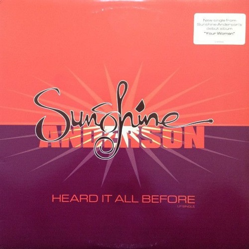 Mr. V vs Sunshine Anderson (L B Mashup)[free download]