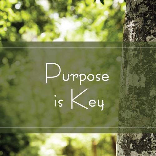 Purpose Is Key