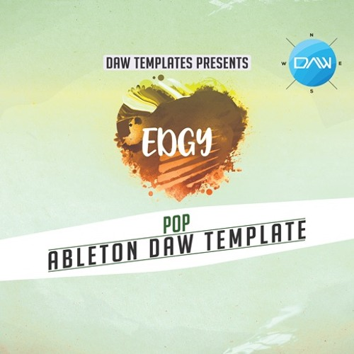 Edgy Ableton DAW Template
