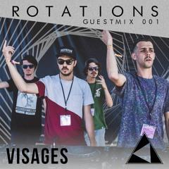 Rotations Guestmix 001 - Visages