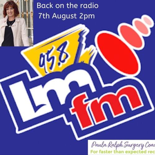 PaulaRalphLateLunchLMFMRadio