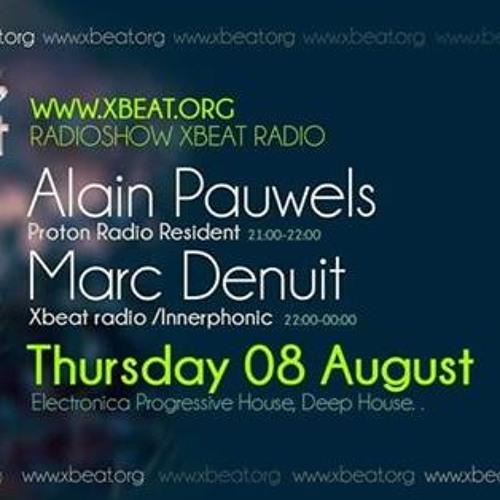 Alain Pauwels & Marc Denuit - 8th August 2019 Xbeat Radio