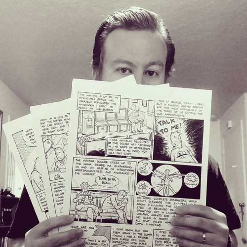 Constructing Comics -Episode 48- Interview With Alex Schumacher
